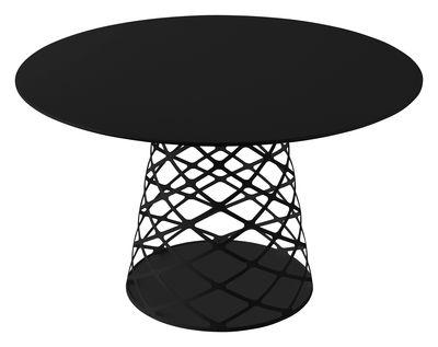 Table ronde Aoyama / Ø 120 cm - Gubi noir en métal