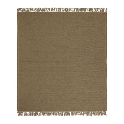 Tapis d'extérieur Siesta / 200 x 250 cm - Fait main - Cinna marron/beige en tissu