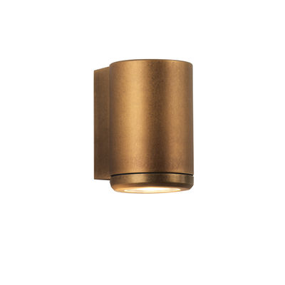 Lighting - Wall Lights - Jura Single Wall light - / Direct lighting by Astro Lighting - Antique brass - Solid brass