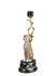 Léopard Candle stick - / H 44 cm - Ceramic & brass by & klevering