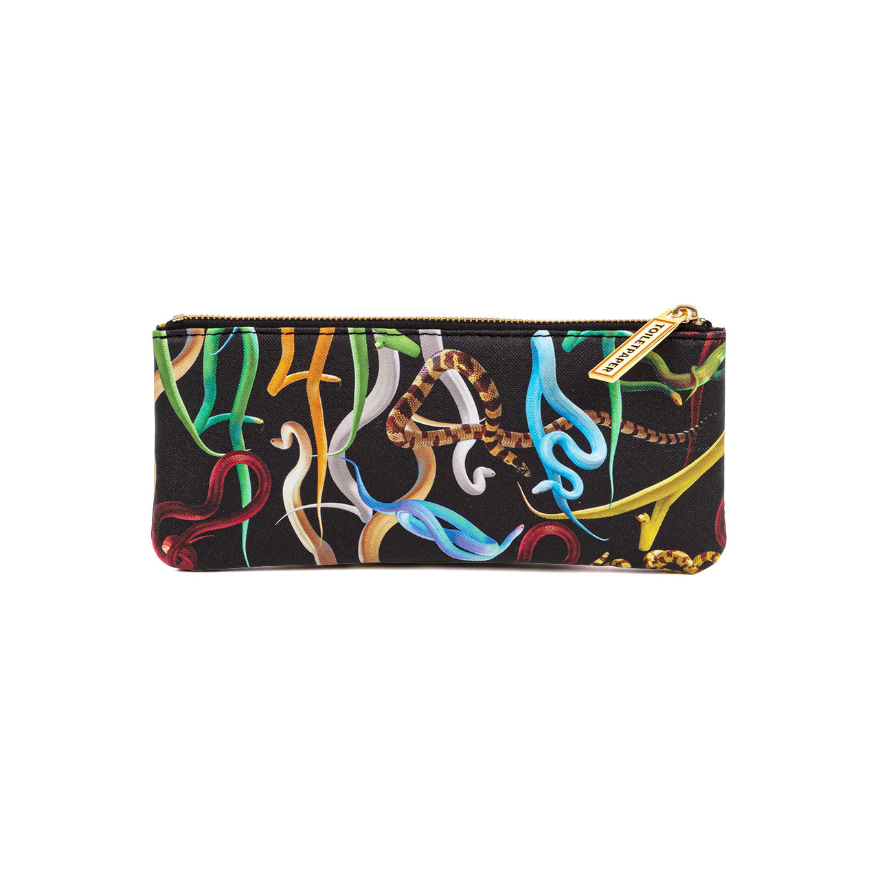 Accessories - Bags, Purses & Luggage - Toiletpaper Case - / Snakes - Fabric by Seletti - Snakes - Polyester, Polyurethane