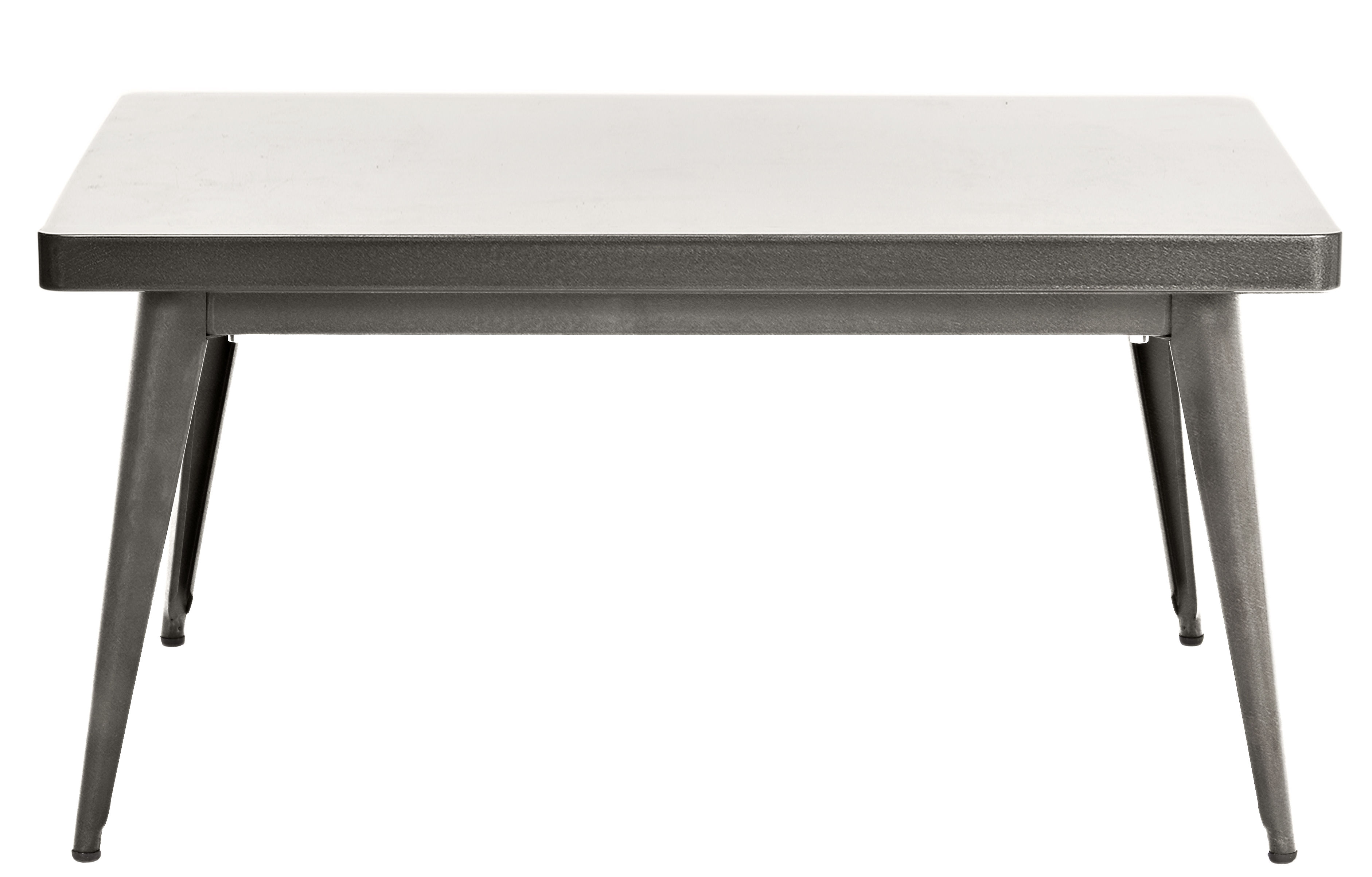 Furniture - Coffee Tables - 55 Coffee table by Tolix - Steel - Gloss varnish raw steel