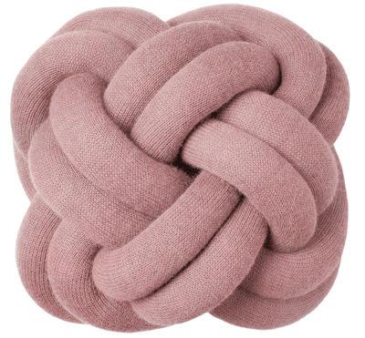 Interni - Cuscini  - Cuscino Knot - Design House Stockholm - Rosa - Acrilico, Lana
