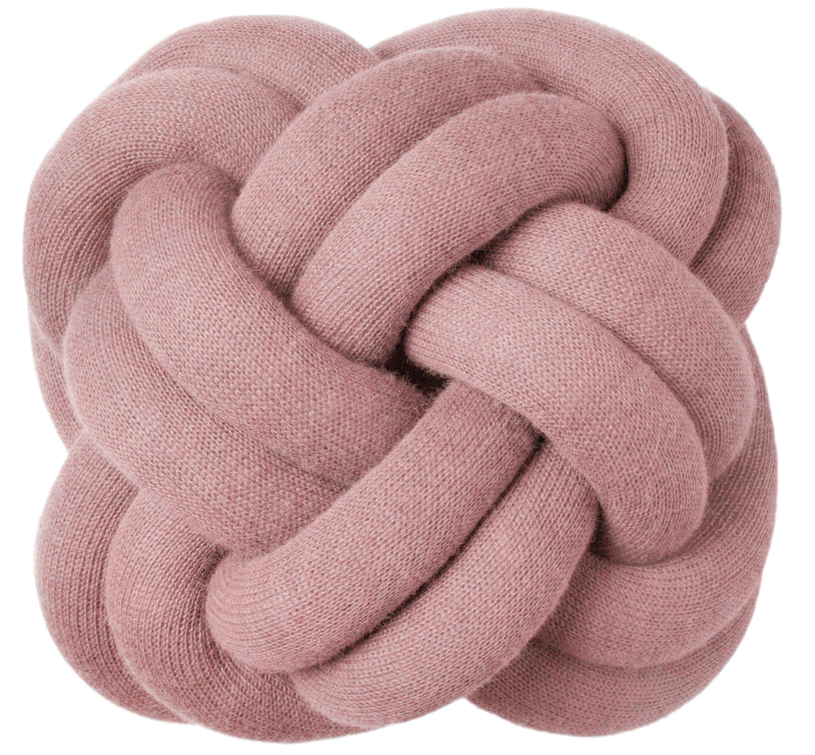 Interni - Cuscini  - Cuscino Knot - Design House Stockholm - Rosa - Tessuto