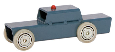 Decoration - Home Accessories - Archetoys Voiture de police Decoration by Magis Collection Me Too - Blue - Painted steel