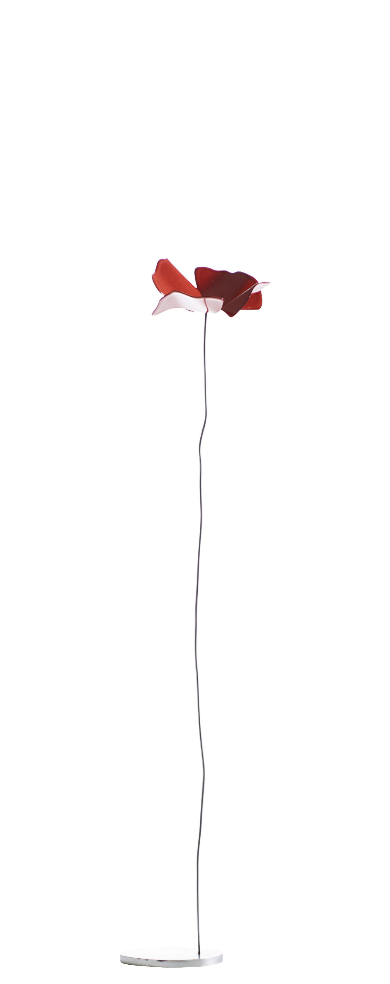 Decoration - Home Accessories - Papavero small Decoration - / Steel - H 47 cm by Opinion Ciatti - Red, Steel - Lacquered steel, Stainless steel
