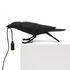 Lampada da tavolo Bird Playing - / Corvo che gioca di Seletti