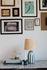 Lampada da tavolo Palmaria Small - / H 48 cm - Ceramica & rafia di Maison Sarah Lavoine