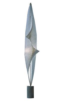 Luminaire - Lampadaires - Lampadaire The MaMo Nouchies - Wo-Tum-Bu 2 LED / Papier - Ingo Maurer - Blanc / Béton - Béton, Papier
