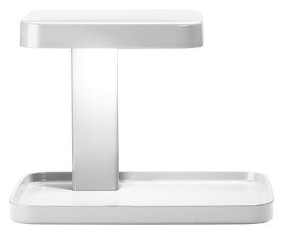 Lampe de table Piani LED / Vide-poche - Flos blanc en matière plastique