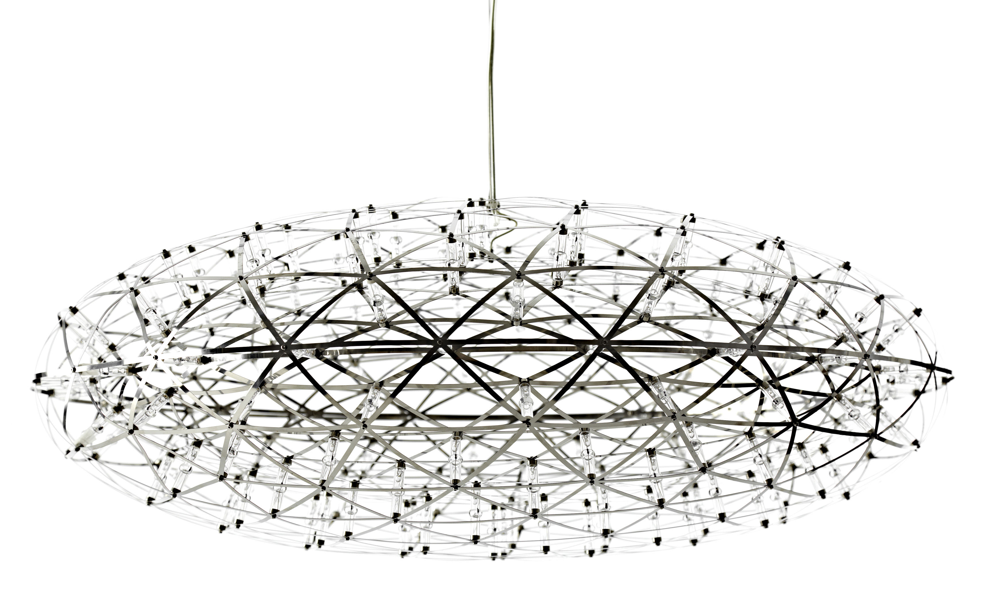 Lighting - Pendant Lighting - Raimond Zafu Pendant - Ø 75 cm by Moooi - Steel - Aluminium, PMMA, Stainless steel