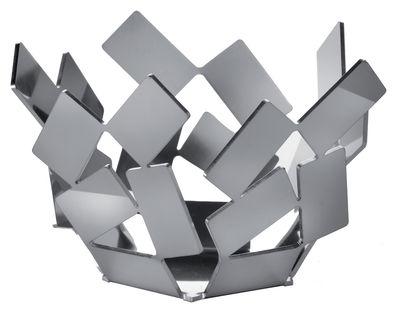 Photophore La Stanza dello Scirocco Ø 9 x H 5 cm - Alessi acier poli en métal