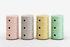 Rangement Componibili Bio / 3 tiroirs - Matériau naturel & biodégradable - Kartell
