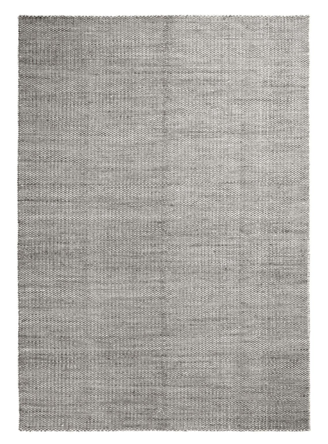 Decoration - Rugs - Moiré Kelim Large Rug - / Handwoven - 300 x 200 cm by Hay - Grey - Wool
