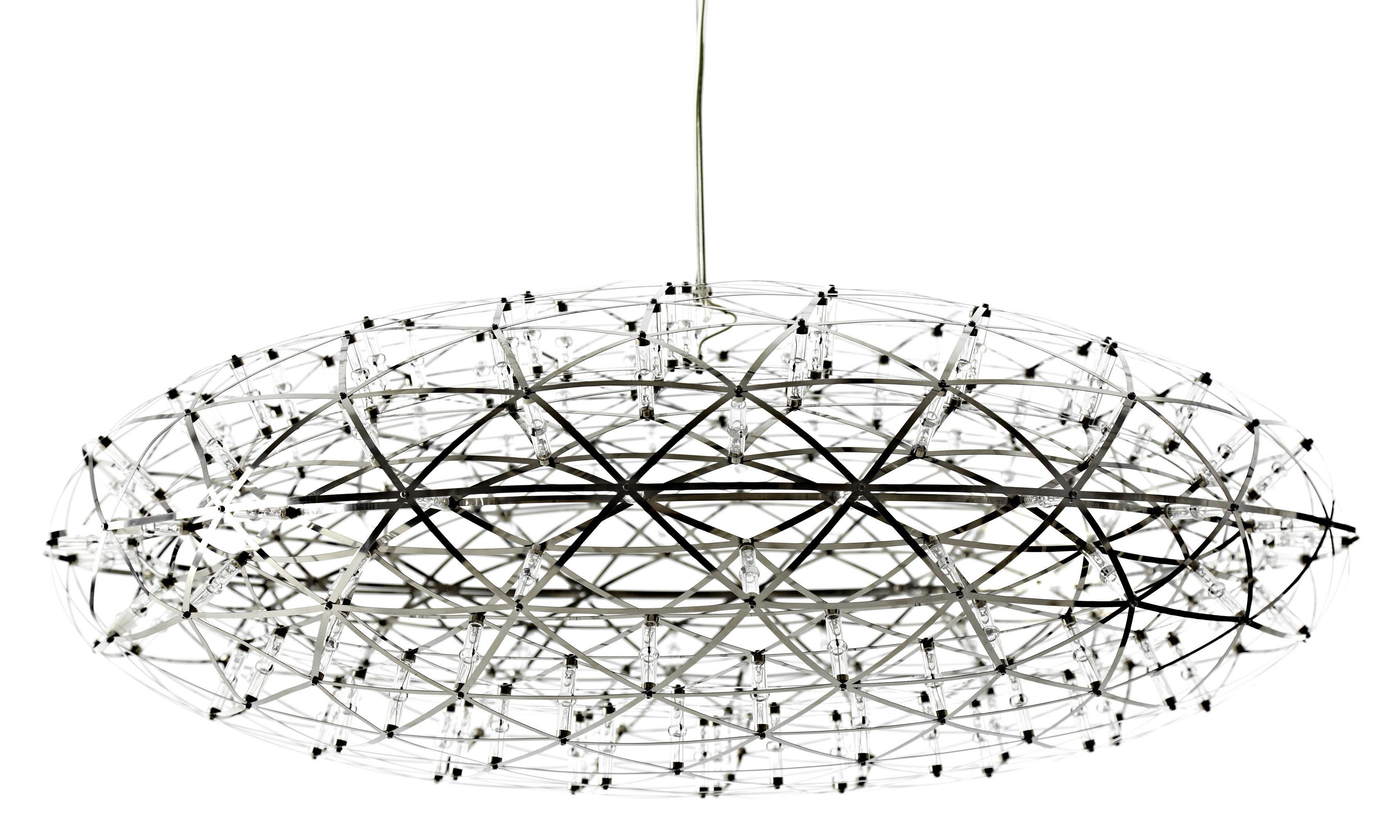 Illuminazione - Lampadari - Sospensione Raimond Zafu - Ø 75 cm di Moooi - Acciaio - Acciaio inossidabile, Alluminio, PMMA