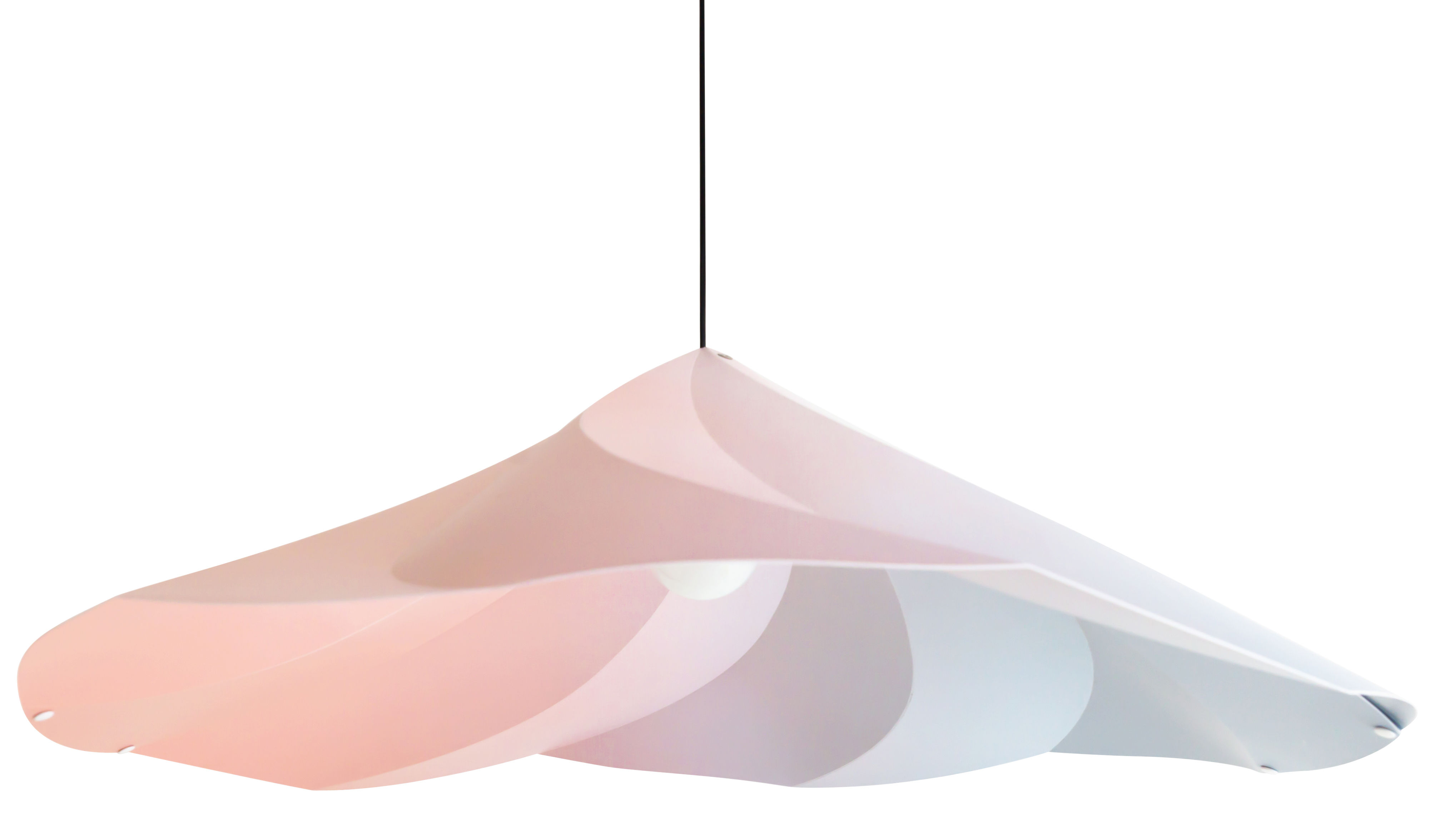 Luminaire - Suspensions - Suspension Chantilly / Ø 102 cm - Moustache - Multicolore - Polypropylène recyclé