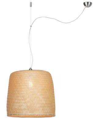 Luminaire - Suspensions - Suspension Serengeti / Bambou - Ø 50 cm - GOOD&MOJO - Bambou - Bambou
