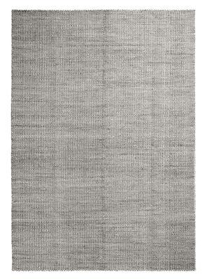 Dekoration - Teppiche - Moiré Kelim Large Teppich / handgeknüpft - 300 x 200 cm - Hay - Grau - Wolle