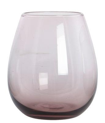 Verre à eau Ball /H 10 cm - House Doctor violet pâle en verre