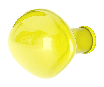 Appendiabiti Bubble Small - Small / Ø 9 cm di Petite Friture - Limone - Vetro