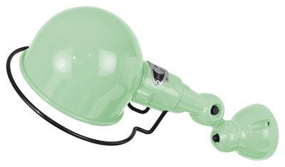 Applique Signal Ø 10 cm - Jieldé vert en métal