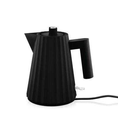 Boulloire électrique Plissé 1 L Alessi noir en matière plastique