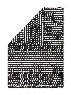 Housse de couette Räsymatto / 240 x 220 cm - Marimekko blanc,noir en tissu