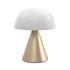 Lampada senza fili Mina Large - / LED - H 17 cm / OUTDOOR / Luce colorata di Lexon