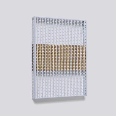 Interni - Contenitori e Cesti - Pannello Pinorama S / H 50 cm - Organizer a parete - Hay - Blu chiaro / Sughero - Acciaio verniciato, Sughero