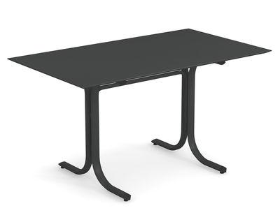 Table rectangulaire System / 80 x 140 cm - Emu fer antique en métal