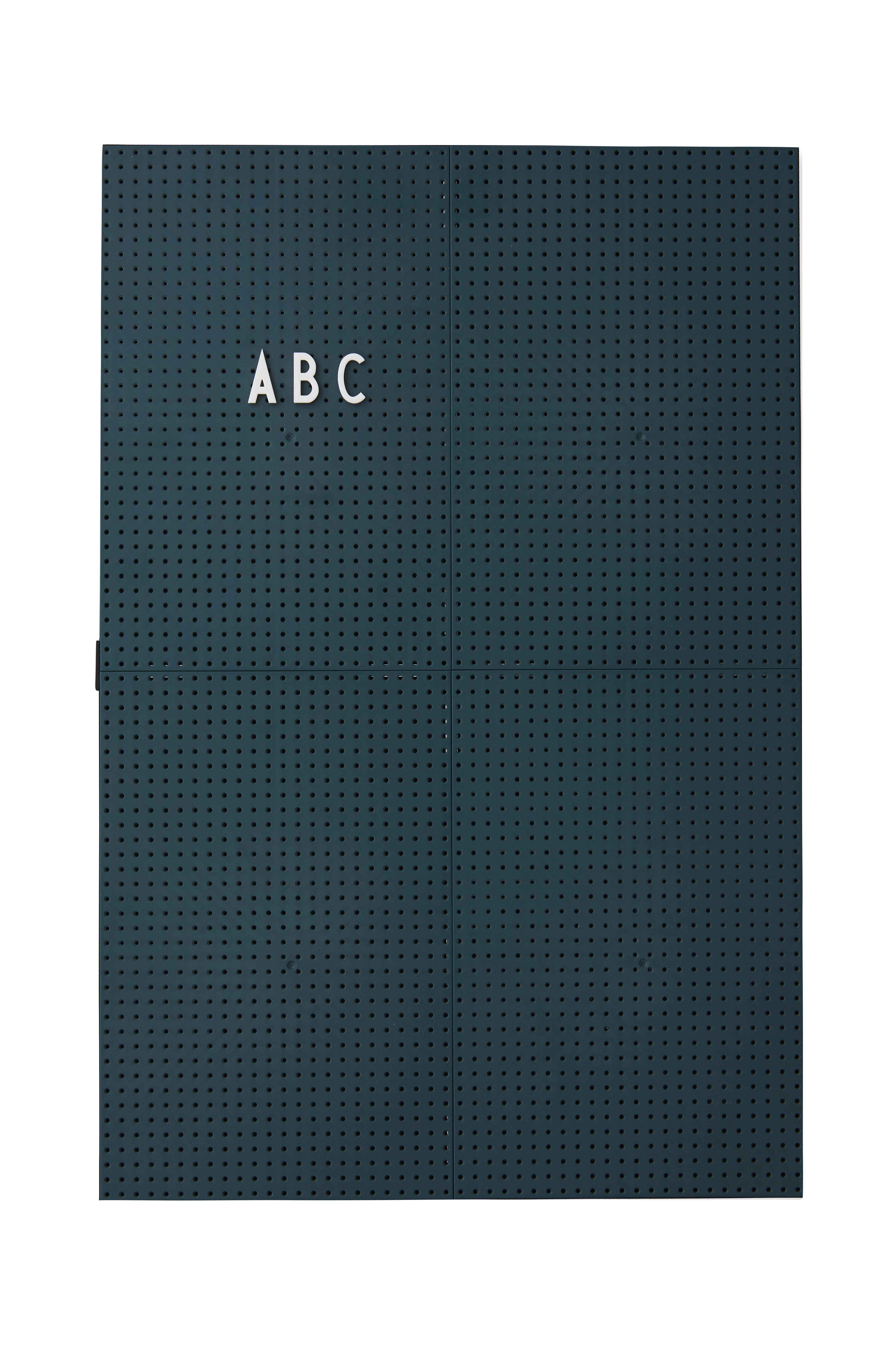 Déco - Mémos, ardoises & calendriers - Tableau memo A3 / L 30 x H 42 cm - Design Letters - Vert foncé - ABS