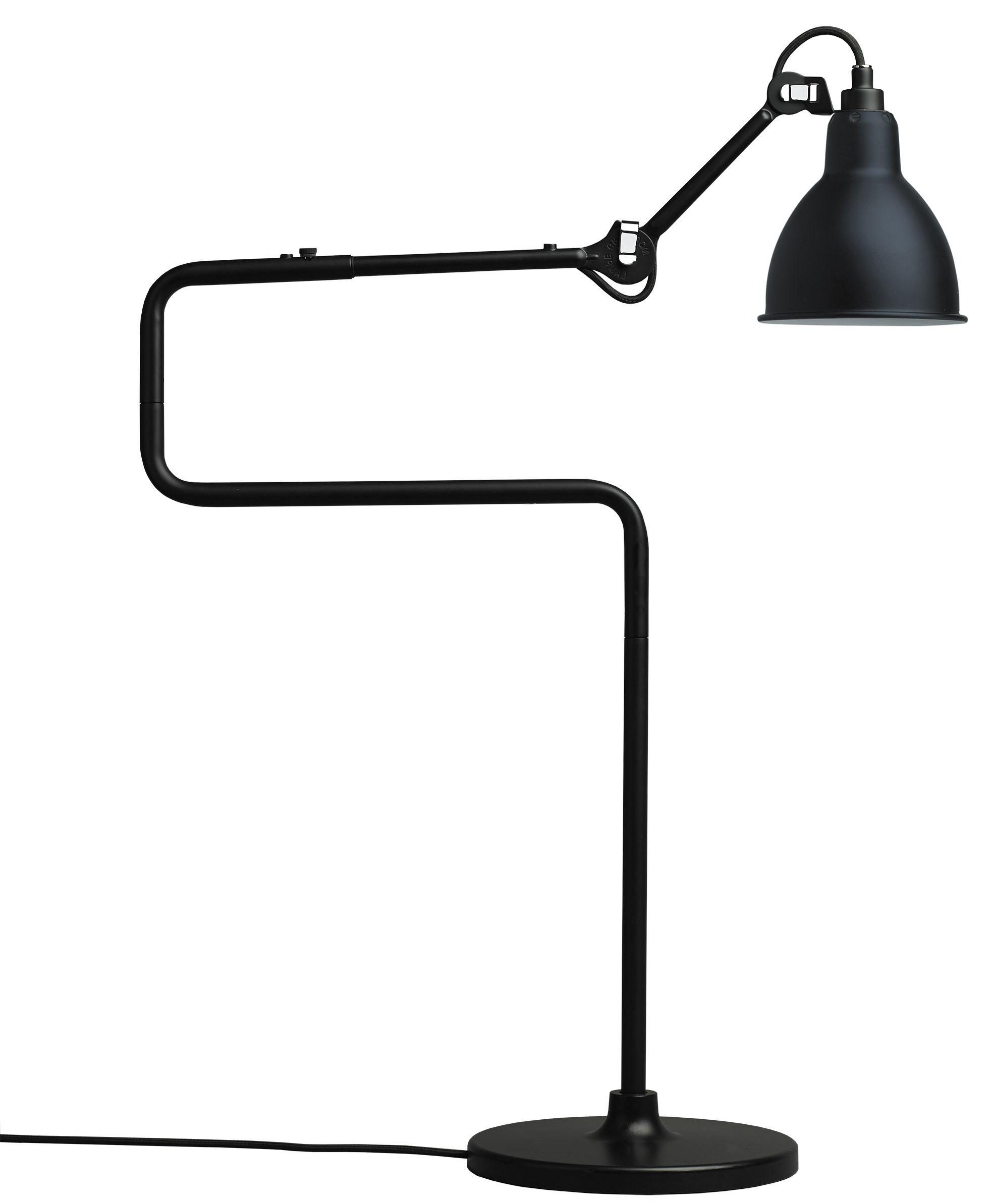 Leuchten - Tischleuchten - N°317 Tischleuchte / H 65 cm - DCW éditions - Schwarz - Stahl