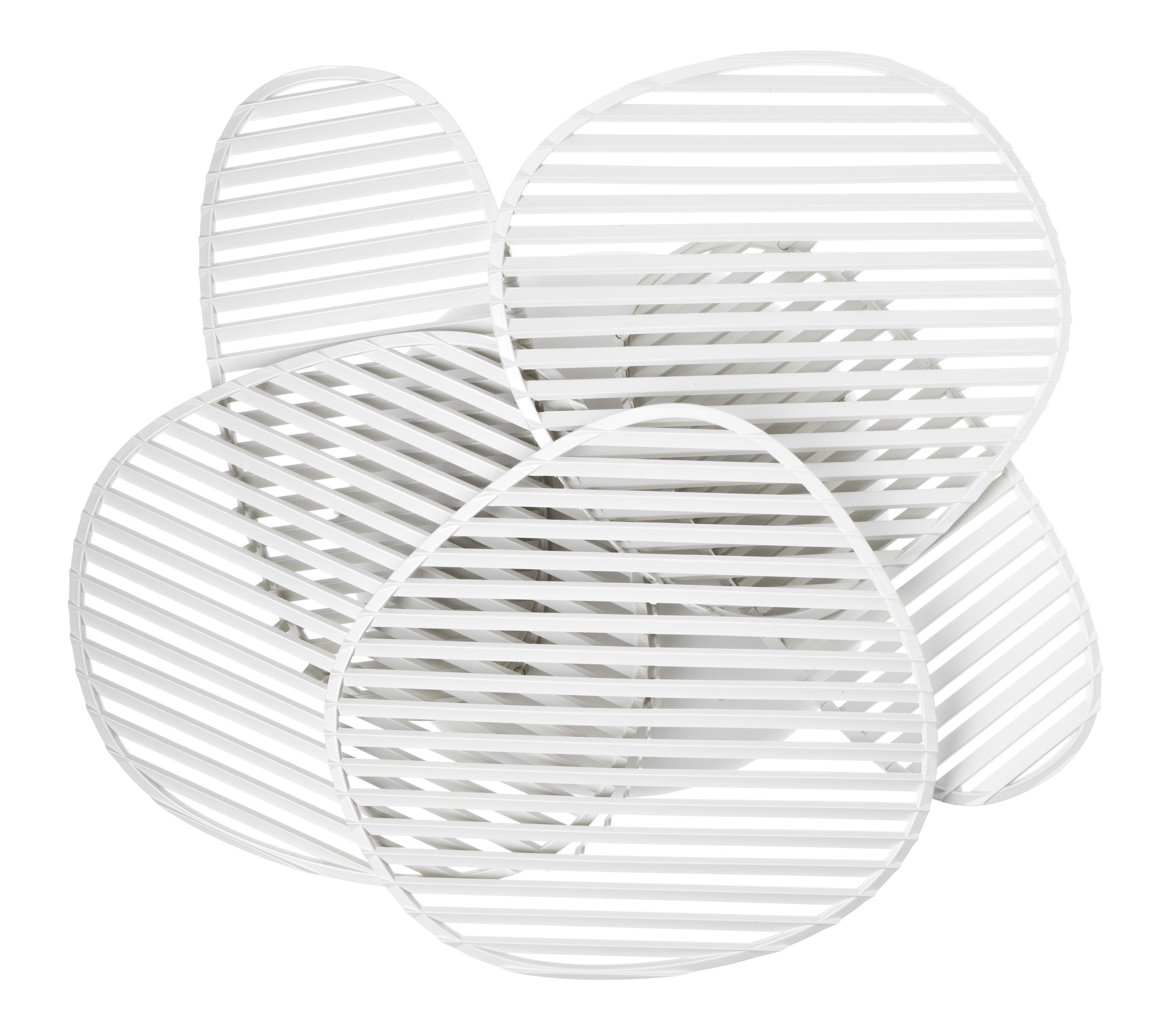 Illuminazione - Lampade da parete - Applique Nuage - / Plafoniera - L 63 x H 54 cm di Foscarini - Bianco - ABS, policarbonato