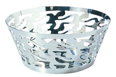 Tableware - Fruit Bowls & Centrepieces - Ethno Basket - Ø 20 cm by Alessi - Ø 20 cm - Steel - Polished 18/10 stainless steel