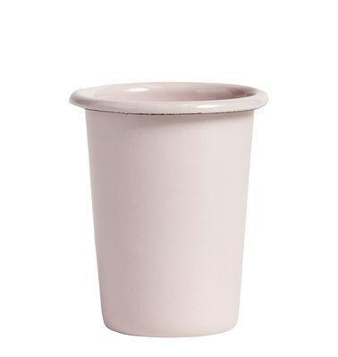 Tavola - Tazze e Boccali - Bicchiere/bicchierino Enamel - / Acciaio smaltato di Hay - Rosa chiaro - Acciaio smaltato