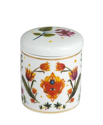 Bougie parfumée Cuore Occhio / Porcelaine - Bitossi Home multicolore,or en céramique