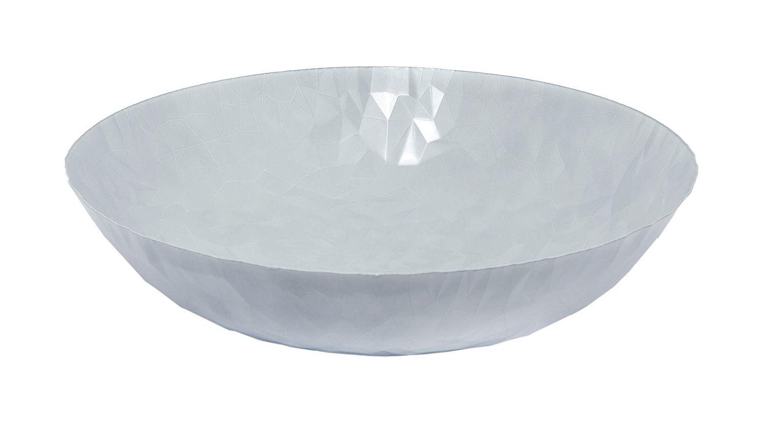 Arts de la table - Corbeilles, centres de table - Centre de table Joy n.11 / Ø 37 cm - Alessi - Blanc - Acier inoxydable avec coloration résine époxy