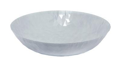 Tavola - Cesti, Fruttiere e Centrotavola - Centrotavola Joy n.11 - / Ø 37 cm di Alessi - Bianco - Acciaio inossidabile con colorazione resina epossidica