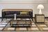 Wiener Box Coffee table - / 107 x 50 cm x H 33 cm - Caning by Wiener GTV Design