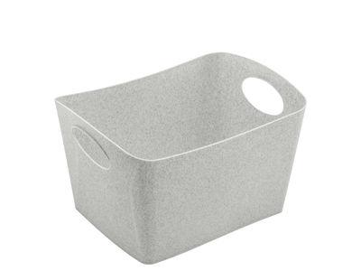 Déco - Pour les enfants - Corbeille Boxxxx S / 1 L - Koziol - Gris organique - Plastique organique
