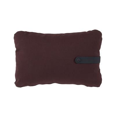 Coussin d'extérieur Color Mix / 44 x 30 cm - Fermob rouge/violet en tissu