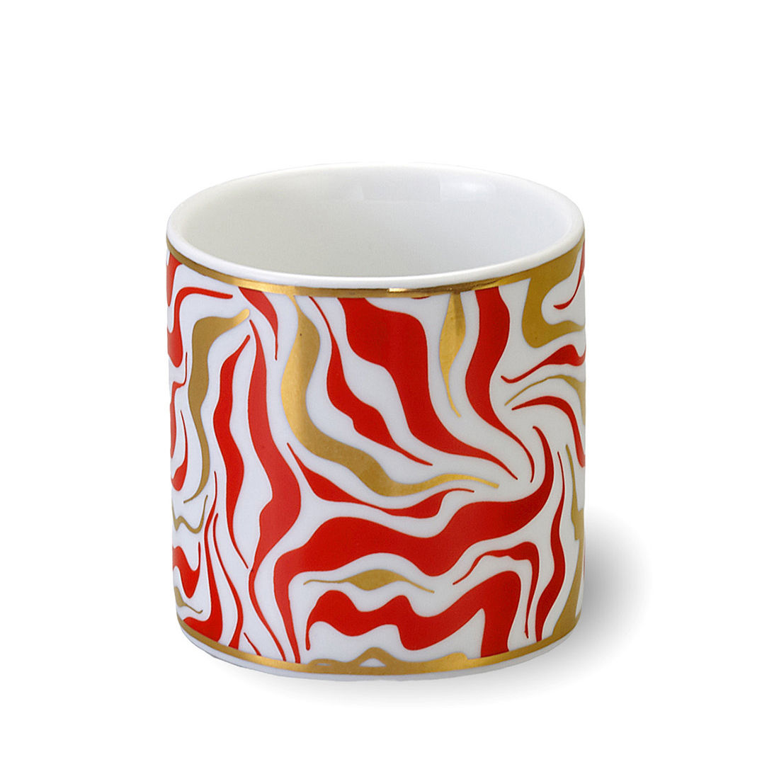 Tableware - Coffee Mugs & Tea Cups - Tempesta Cup - / Ø 8 x H 8 cm by Bitossi Home - Storm - China