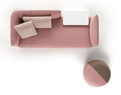Divano Rosa Cipria : Cosy paolina divano destro posti l cm divano rosa