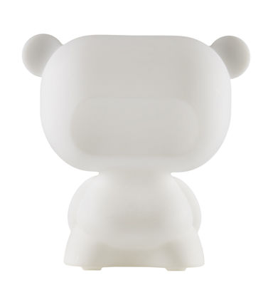 Déco - Pour les enfants - Lampe de table Pure / H 45 cm - Slide - Blanc - polyéthène recyclable