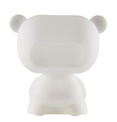 Lampe de table Pure / H 45 cm - Slide blanc en matière plastique
