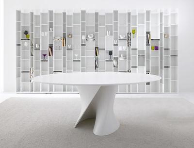 Mdf Italia S Oval Table White Made In Design Uk