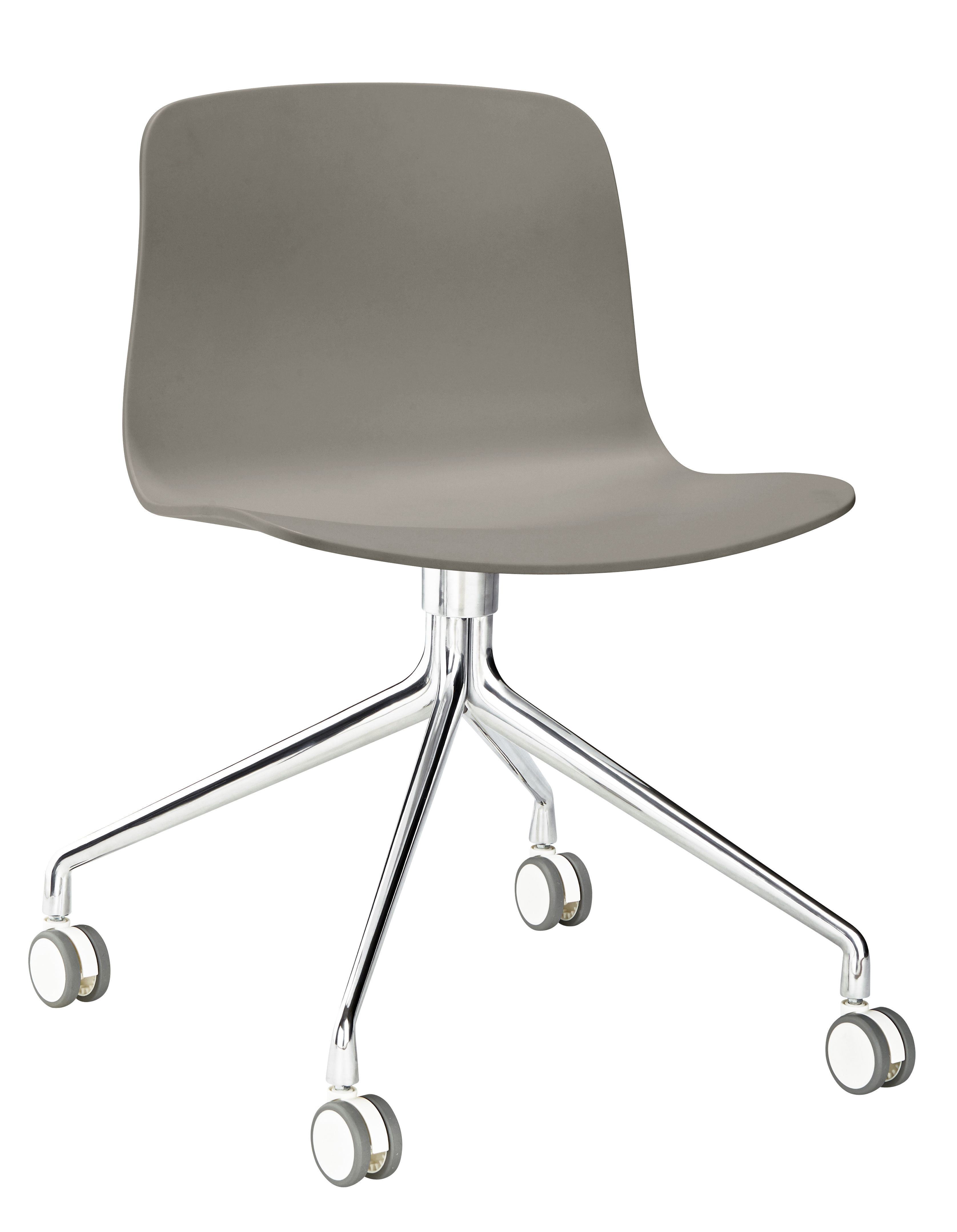Sedia a rotelle About a chair AAC14 Hay - Grigio / Base in alluminio ...