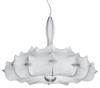 Illuminazione - Lampadari - Sospensione Zeppelin S1 di Flos - Cocoon - Acciaio, Resina