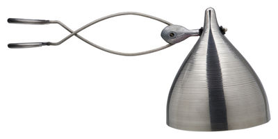 Spot à pince Cornette version unie - Tsé-Tsé métal mat en métal
