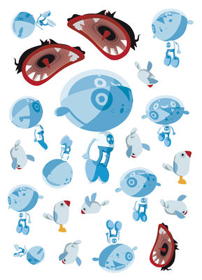 Image of Sticker Adopt me - Set di 21 Mini stickers di Domestic - Multicolore - Materiale plastico/Carta